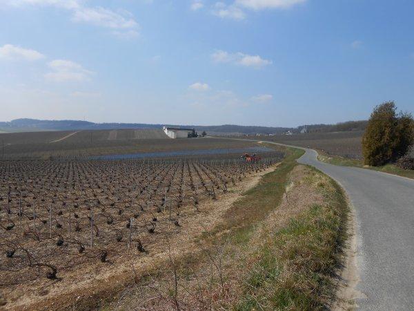 Rallye Cyclo de l'Aube, circuit n° 3 (avril 2013)