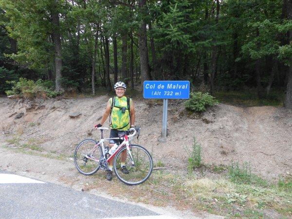 Brevet de Grimpeur des Monts du Lyonnais (juillet 2013), par Claude 1/2