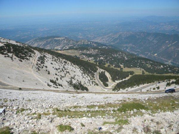 La double ascension du Géant de Provence (22 août 2013), par Kévin et Manu