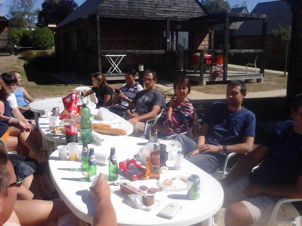 Weekend des vététistes à Sainte Suzanne (53)