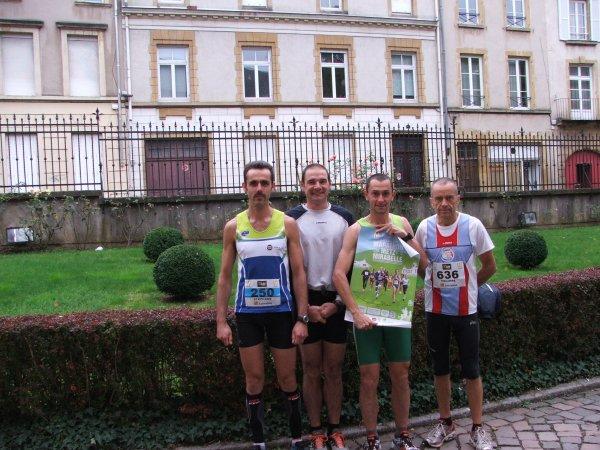 Marathon de Metz (octobre 2013), par Marie-Ange