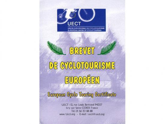 Brevet ou Diplôme de Cyclotourisme Européen