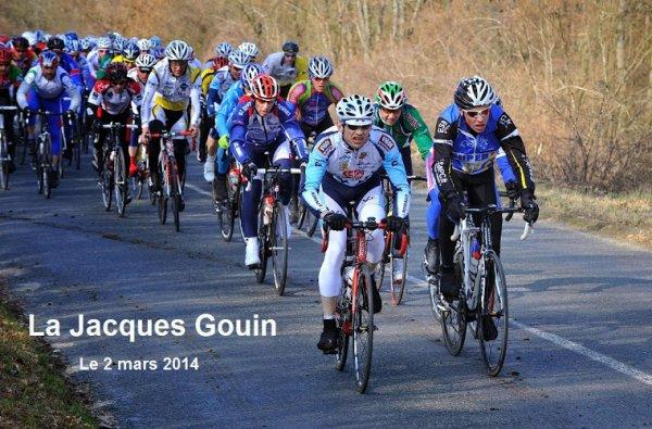 LA JACQUES GOUIN À MENNECY (91) - 115 km / 730 m de D+ DIMANCHE 2 MARS 2014