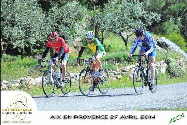CYCLOSPORTIVE : LA PROVENCALE SAINTE VICTOIRE  A  AIX-EN-PROVENCE (95 km — 1259 m de D+) DIMANCHE 27 AVRIL 2014