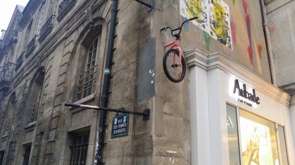 Ne raccrochez pas votre vélo