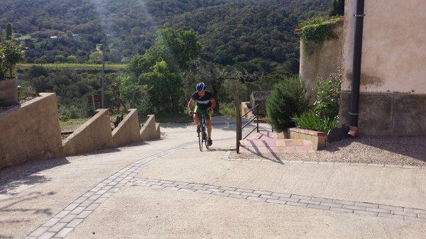 ROSAS 2015, les cols de ma bicyclette