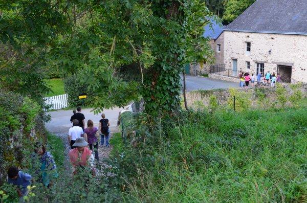 Weekend des Vététistes à Sainte-Suzanne 2015