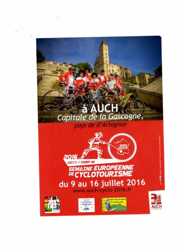 2016 trois moments forts pour cyclotouristes, 4 pour les femmes