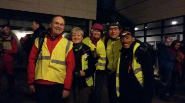 Bourges Sancerre à pied 60 km et en nocturne