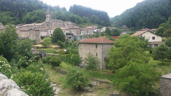 Et maintenant  le circuit traditionnel de l'Ardéchoise suite de l'Ardèche Verte