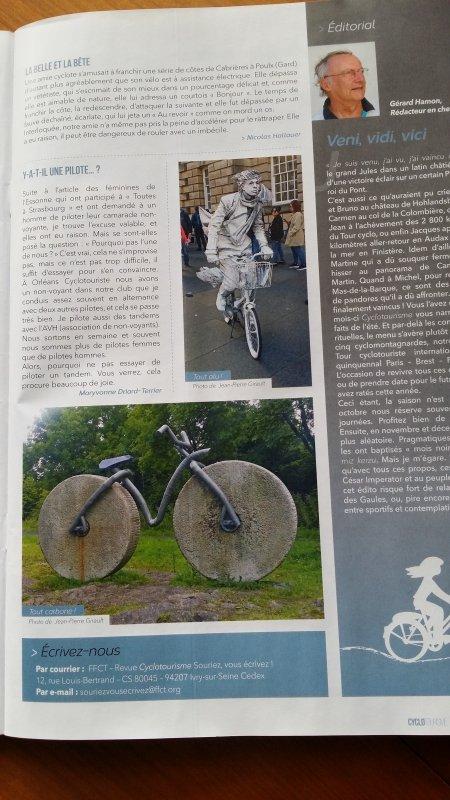 Photos d'Ecosse dans Cyclotourisme Magazine