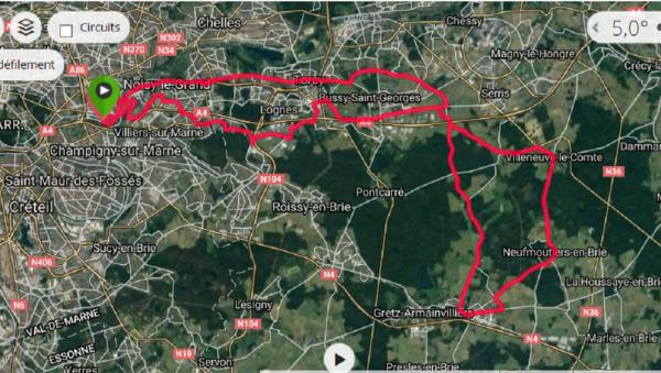 Rallye Le Perreux 05/03/2017