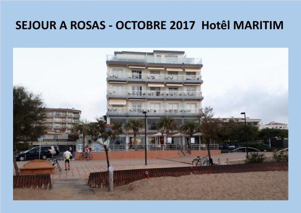 Séjour Rosas-Octobre 2017