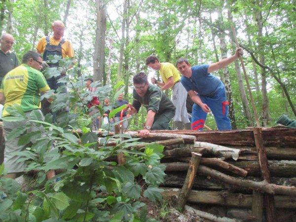 Action de bénèvola dans le Mont Griffon à Yerres avec l'ONF