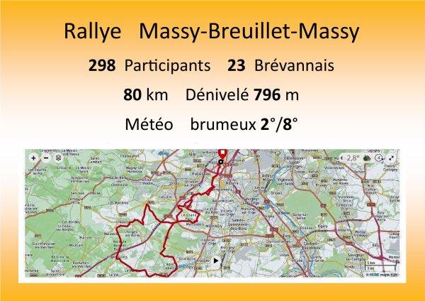 MASSY- BREUILLET - MASSY - 2018.
