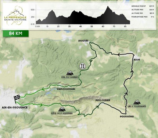 La Cyclo Provençale Sainte Victoire (7ème édition)