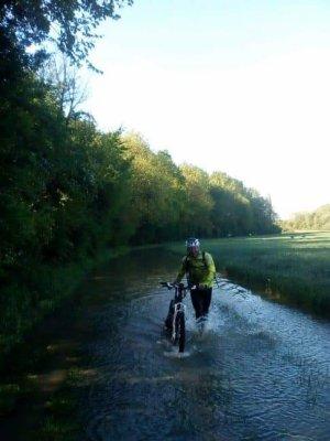 La Mormantaise version Aquabiking (VTT)