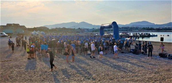 Le Triathlon de Marseille en relais