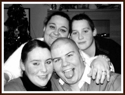 nous 4 ma femme son frere sa soeur et moi