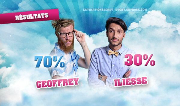 ESTIMATIONS - Nominations 1 : GEOFFREY / ILIESSE