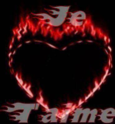 coeur enflamer