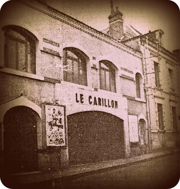 """JE VOUS PRÉSENTE MON CINÉMA """"LE CARILLON"""" QUI DATE DE 1926 SITUÉ 22 RUE GOURDON À VIERZON 18100"""