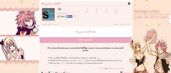Pack Habillages n°7 : Spécial Couples de Fairy Tail, Nalu [Libre-Service]