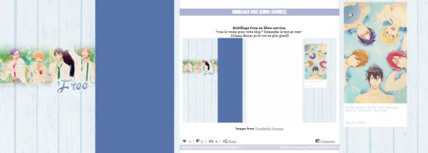 Habillage Free [Libre-service].
