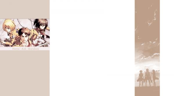 Habillage Shingeki no Kyojin [Libre-service]