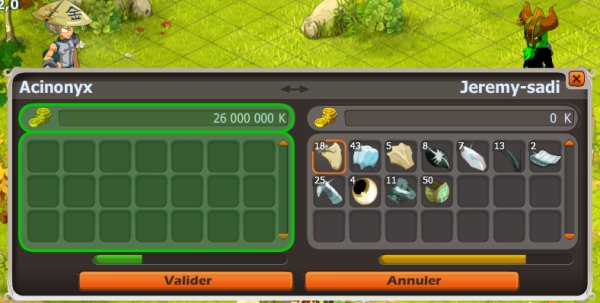 Kolosso, second Dofus Pourpre