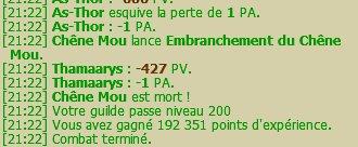 [21:22] Votre guilde passe niveau 200
