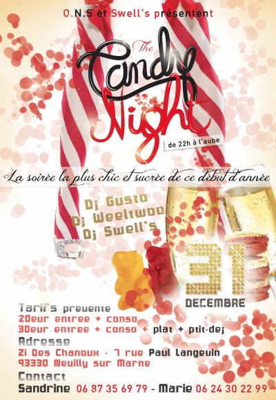 """THE CANDY NIGHT"" UN REVEILLON SUR MESURE"