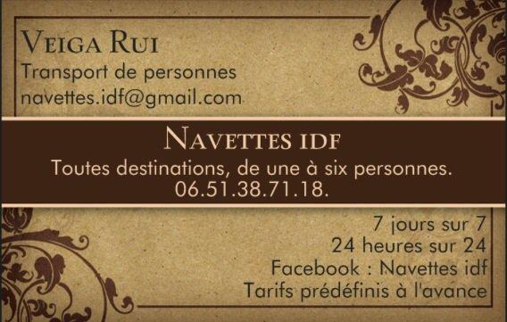 Navettes idf - Shuttle - Taxi - Paris - Airport - Disneyland