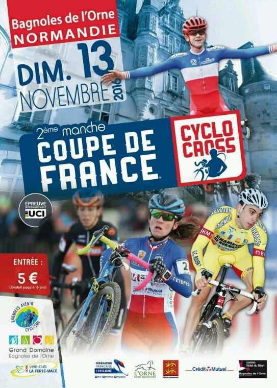 Théo Crescence et Fabien Tocaven seront au départ de la coupe de France de cyclo-cross ce week-end. Bonne chance à eux ! On est tous avec vous !