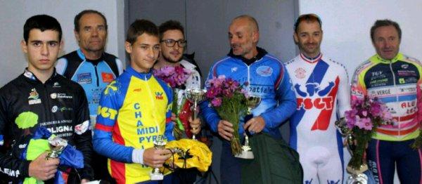 Cyclo cross de Montaudran FSGT Pierre Meriane vainqueur en cadet