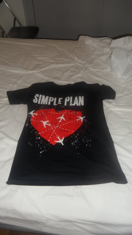t shirt simple plan