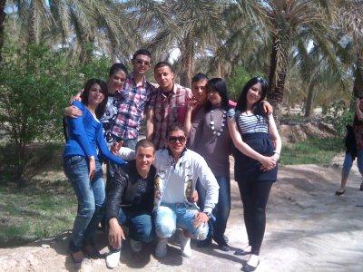 avec les amis