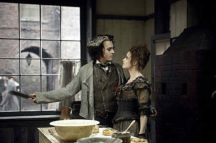 Sweeney Todd: Le diabolique barbier de fleet street. (2007)