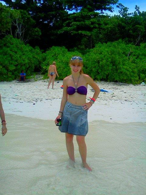 Me en Thaïlande