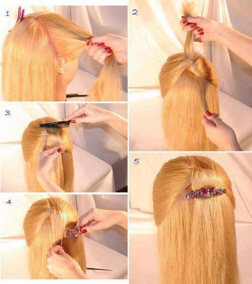 Tuto, coiffure