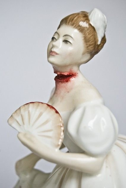 Amy   -   De l'art kitsch a la sculpture gore.