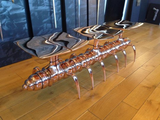Amy   -   The steel centipede