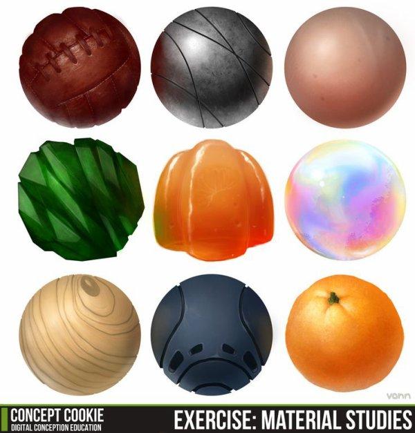 Amy - Texture et materiaux