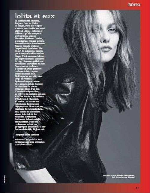 Photos : Vanessa Paradis : elle rayonne à Milan pour soutenir son ami Karl Lagerfeld et la maison Chanel !