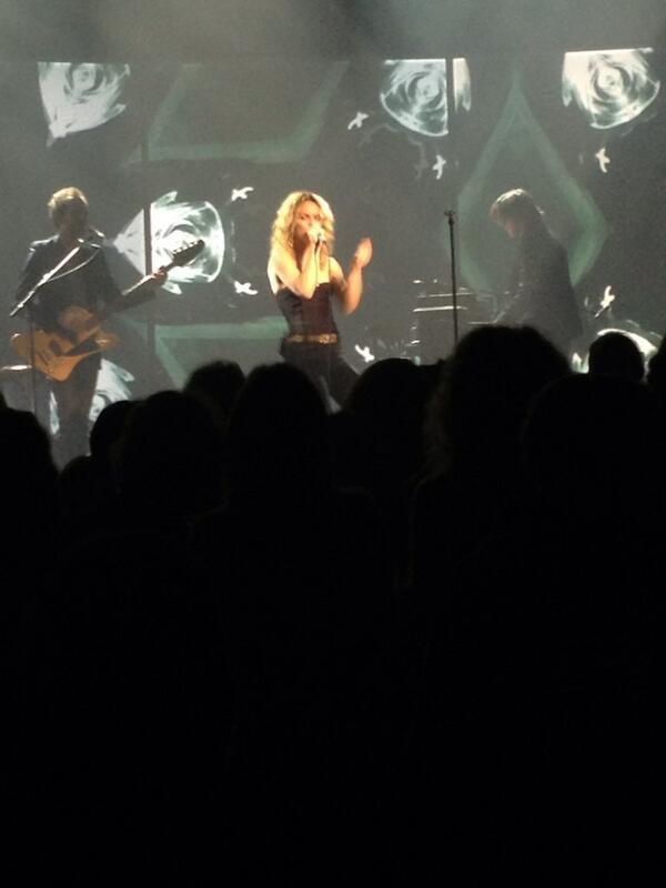 Vanessa Paradis en concert à Perpignan