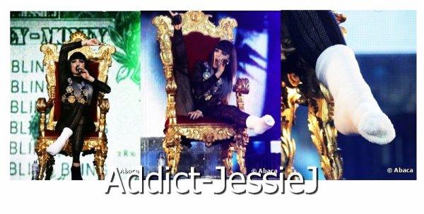 NEWS : Jessie J : Même blessée, elle fait danser 75 000 spectateurs à Londres !