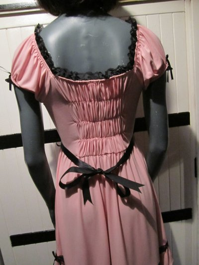 Robe sweet lolita rose  (1)