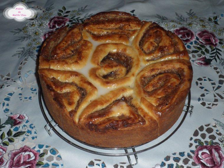 Schneckekueche, Gâteau dit « Chinois »