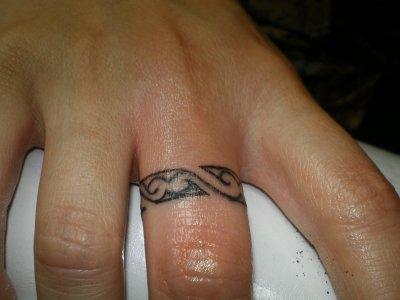 Bague Au Doigt Tattoo Tatouage Et Piercing Le Body Art Est