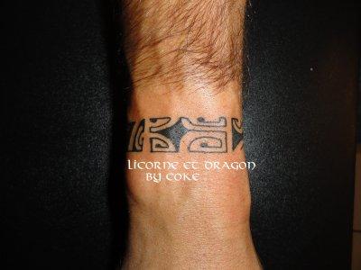 Tatouage personnalisé  Bracelet maori